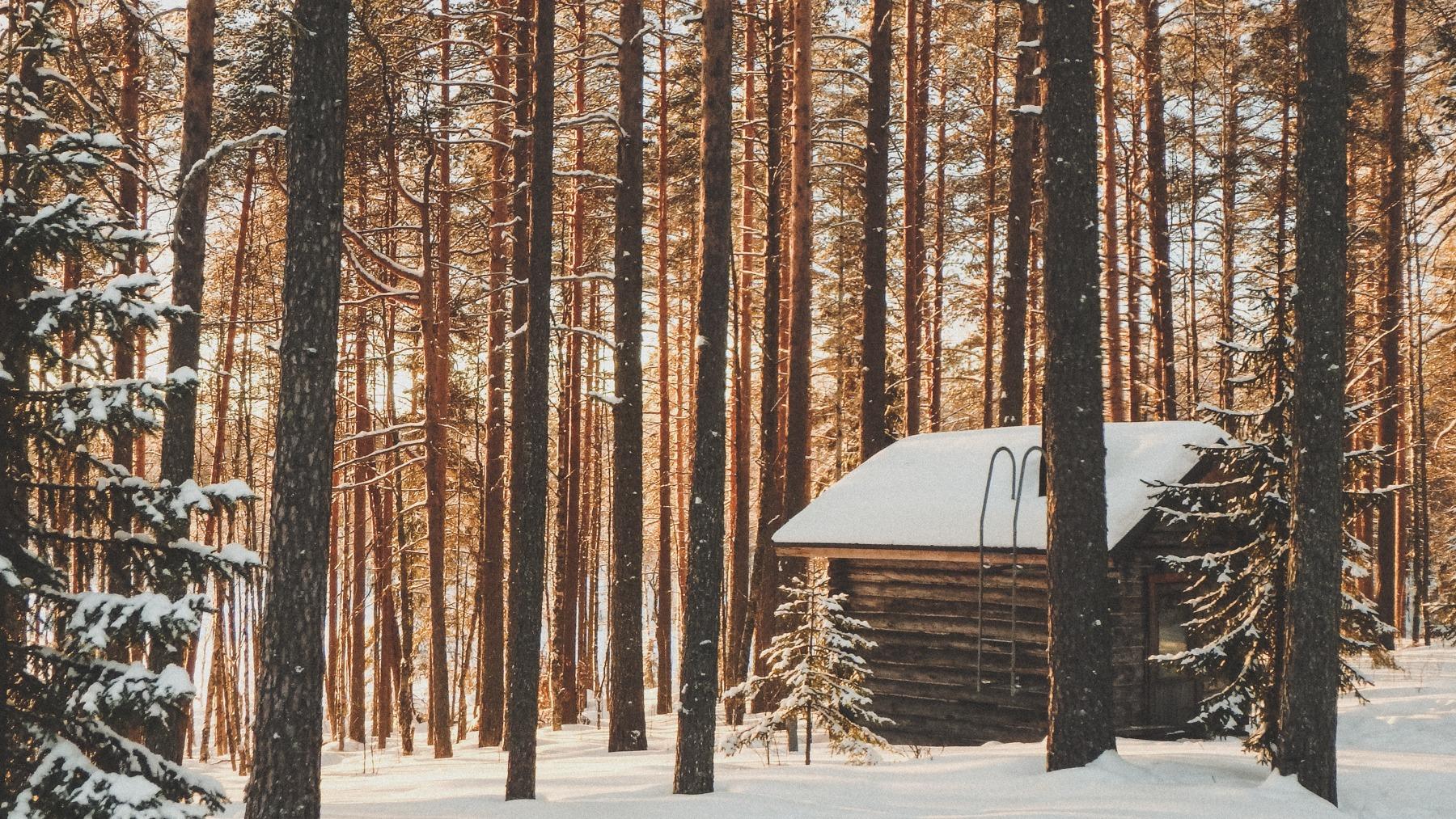 SCHLITTENTOUR: Karelien